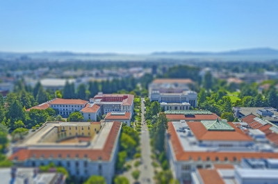 """Aerial view of Berkeley University Campus and San Francisco Bay, USA - <a href=""""https://marcorubinophoto.com/product/aerial-view-of-berkeley-university-campus-and-san-francisco-bay-usa"""">BUY NOW</a>"""