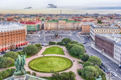 """Panoramic view over St. Petersburg, Russia, from St. Isaac's Cathedral - <a href=""""https://marcorubinophoto.com/product/panoramic-view-over-st-petersburg-russia-from-st-isaacs-cathedral-8"""">BUY NOW</a>"""