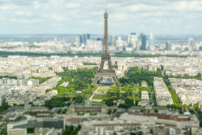 """Aerial view of the Eiffel Tower, Paris, France - <a href=""""https://marcorubinophoto.com/product/aerial-view-of-the-eiffel-tower-paris-france"""">BUY NOW</a>"""