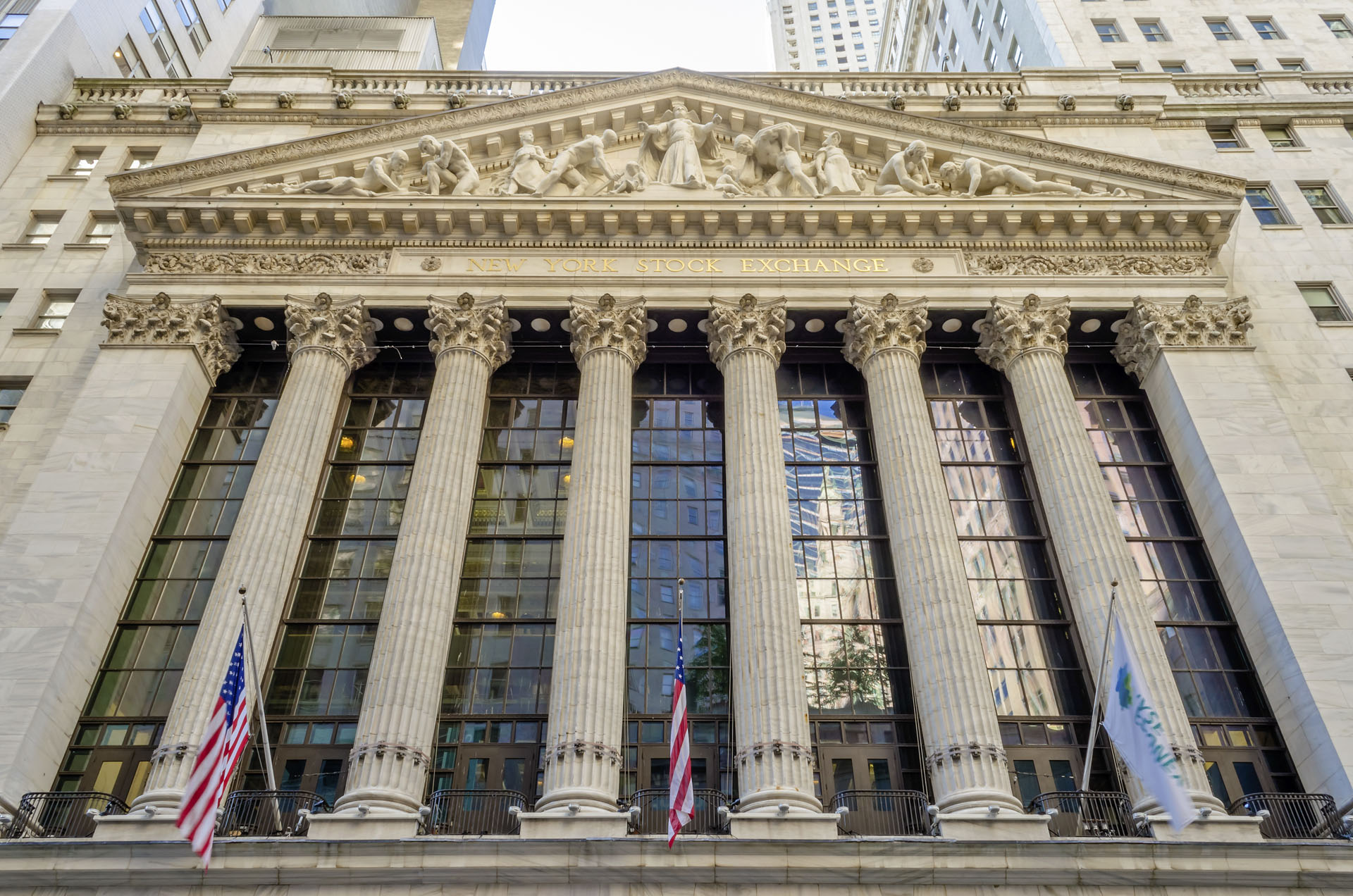 New York Stock Exchange, Wall Street, New York City, USA