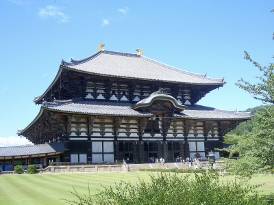 Todai-ji Buddhist Temple, Nara, Japan