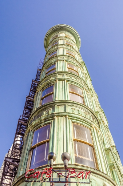 Columbus Tower in San Francisco, USA
