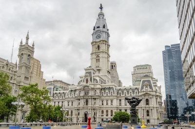 Philadelphia City Hall building, Pennsylvania, USA