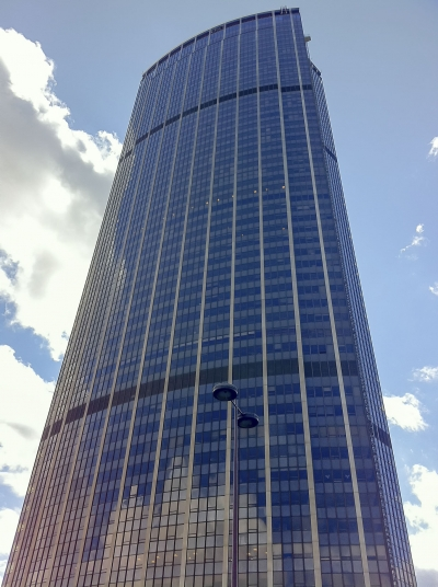 Tour Montparnasse, modern skyscraper in Paris, France