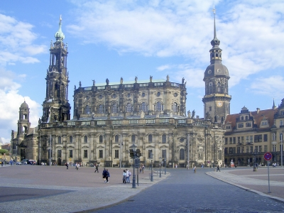 Hofkirche, Dresden Cathedral, Germany
