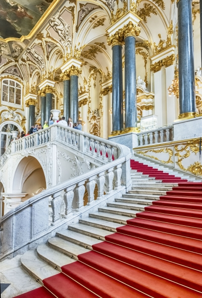 Jordan Staircase of the Winter Palace, Hermitage Museum, St. Petersburg