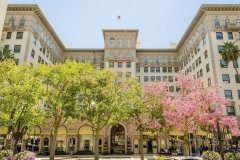 The Beverly Wilshire Hotel in Beverly Hills, California, USA