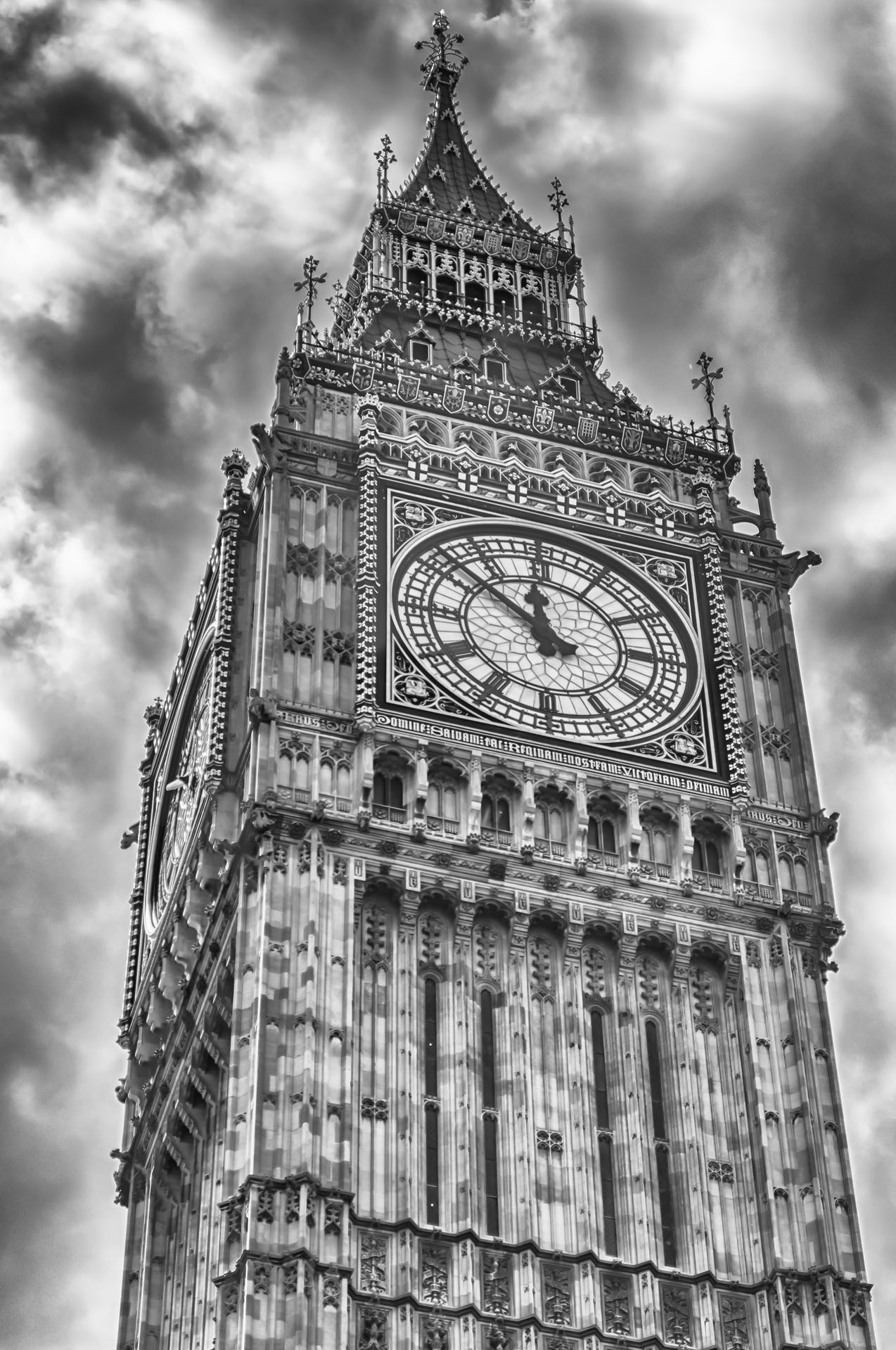 The Big Ben, Houses of Parliament, London, UK
