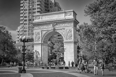 Washington Square Arch, New York City, USA