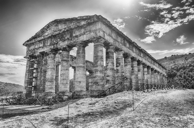 Greek Temple of Segesta, Sicily, Italy