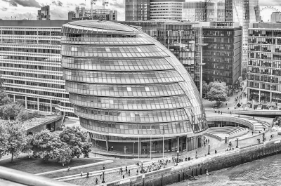 The iconic London City Hall, UK