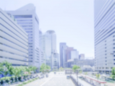Defocused generic background of Osaka, Japan.