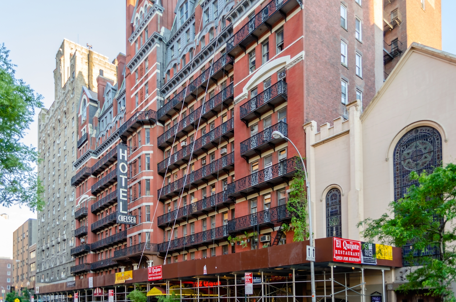 Hotel Chelsea in Midtown Manhattan, New York City