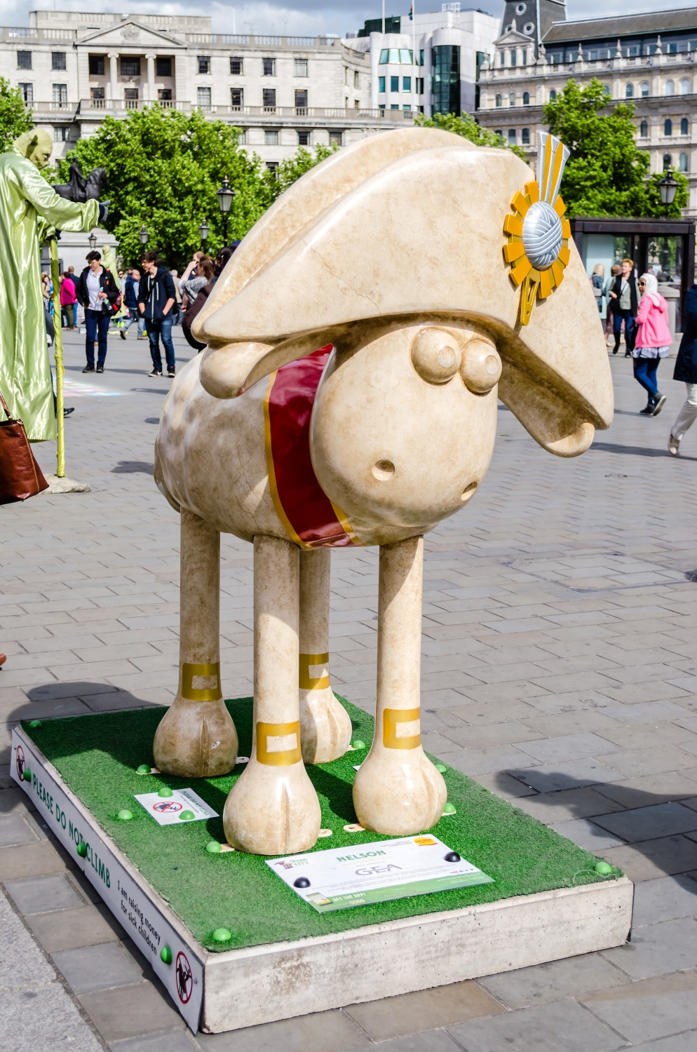 Aardman's Shaun the Sheep character