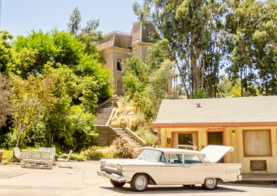 "Set of the movie ""Psycho"" at the Universal Studios in Hollywood"