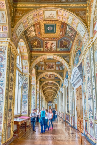 State Hermitage (Winter Palace) in St. Petersburg, Russia