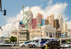 The New York-New York Hotel and Casino in Las Vegas
