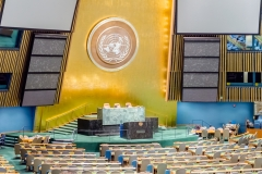 General Assembly Hall, United Nations Headquarters, New York City