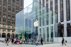 Apple Store cube on 5th Avenue, New York