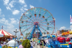 Wonder Wheel in Coney Island