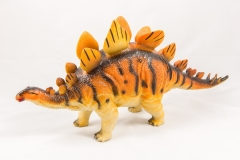 Stegosaurus dinosaur toy model