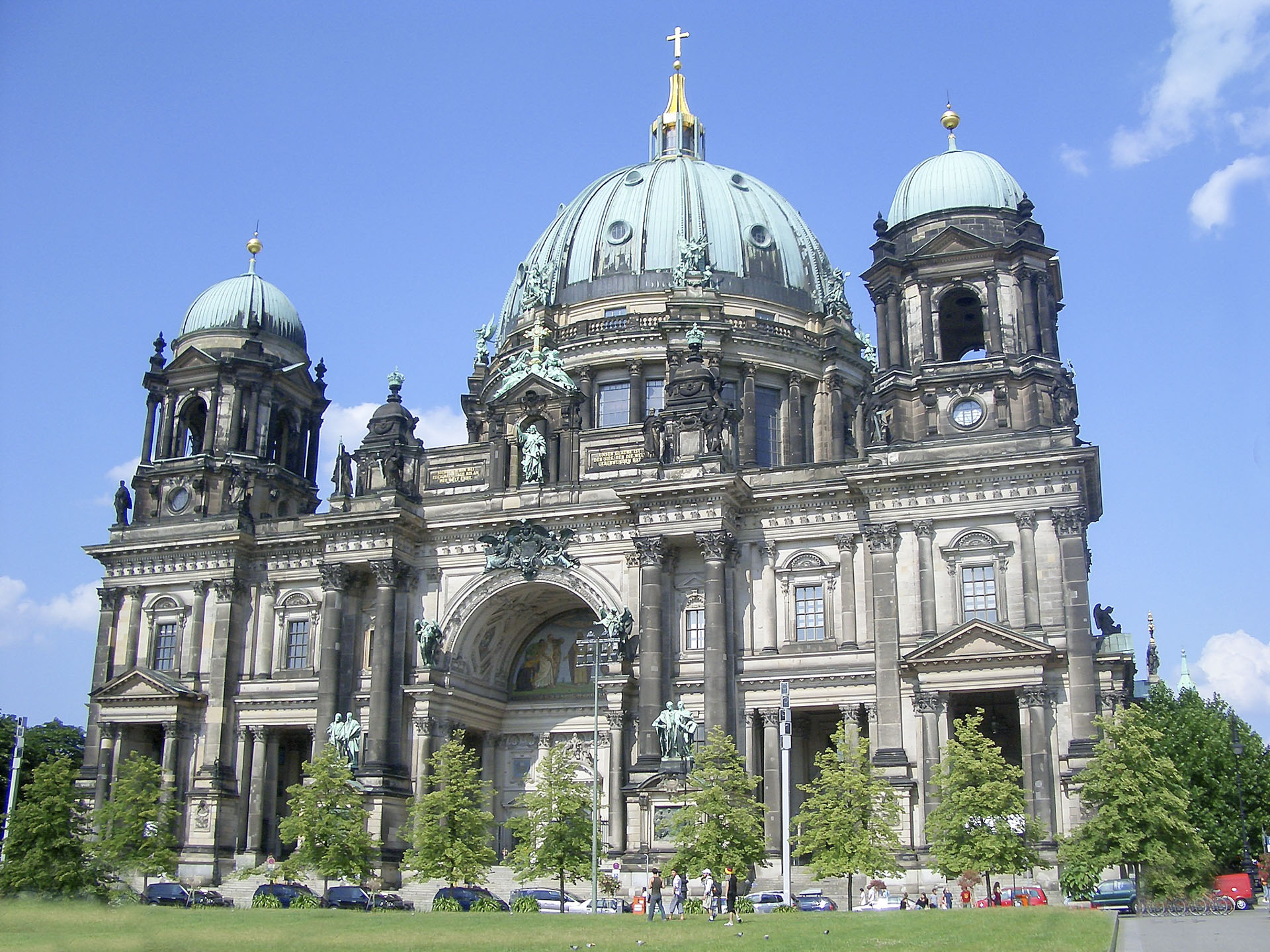 Facade of Berlin Cathedral, Germany