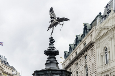 """Eros Statue at Piccadilly Circus, London, UK - <a href=""""https://marcorubinophoto.com/product/eros-statue-at-piccadilly-circus-london-uk-2"""">BUY NOW</a>"""
