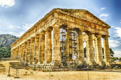 """Greek Temple of Segesta, Sicily, Italy - <a href=""""https://marcorubinophoto.com/product/greek-temple-of-segesta-sicily-italy-19"""">BUY NOW</a>"""