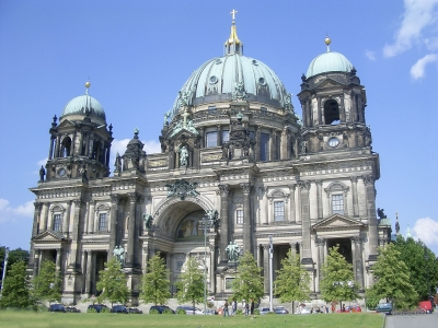"""Facade of Berlin Cathedral, Germany - <a href=""""https://marcorubinophoto.com/product/facade-of-berlin-cathedral-germany-2"""">BUY NOW</a>"""