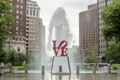 Love Statue in Philadelphia, Pennsylvania, USA