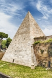 "Pyramid of Cestius, iconic landmark in Rome, Italy - <a href=""https://marcorubinophoto.com/product/pyramid-of-cestius-iconic-landmark-in-rome-italy-16"">BUY NOW</a>"