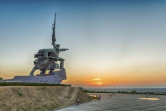 """Soldier and Sailor"" Memorial to Heroic Defenders of Sevastopol, Crimea"