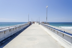 Venice Beach Pier in California, USA