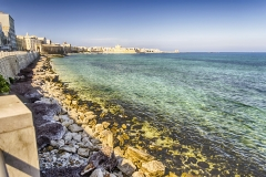 Seafront of Trapani, Sicily, Italy