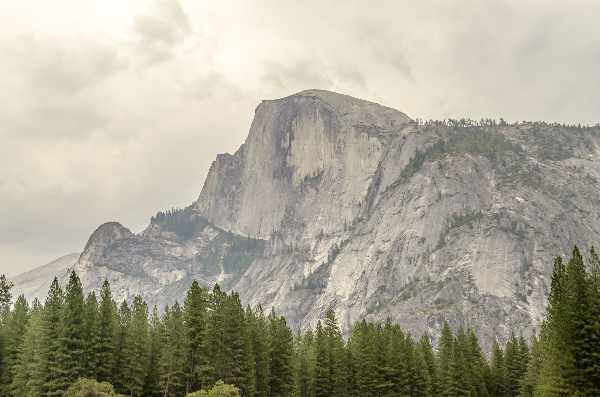 Half Dome in Yosemite National Park, California, USA