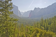 Yosemite Valley from Tunnel View, USA