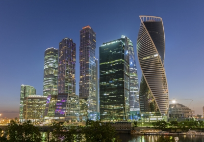 """Scenic night view of Moscow City International Business Center, Russia - <a href=""""https://marcorubinophoto.com/product/scenic-night-view-of-moscow-city-international-business-center-russia"""">BUY NOW</a>"""