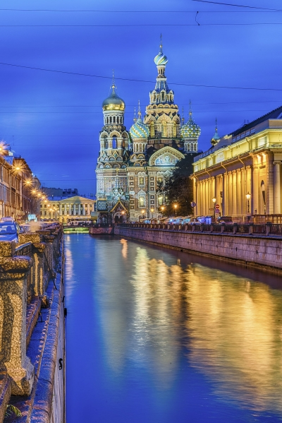 """Church of the Savior on Blood at night, St. Petersburg - <a href=""""https://marcorubinophoto.com/product/church-of-the-savior-on-blood-at-night-st-petersburg-4"""">BUY NOW</a>"""