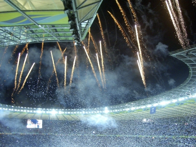 """Victory Celebration at Olympiastadion in Berlin, Germany - <a href=""""https://marcorubinophoto.com/product/victory-celebration-at-olympiastadion-in-berlin-germany"""">BUY NOW</a>"""