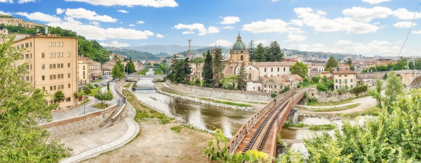 """Scenic view of the Old Town in Cosenza, Italy - <a href=""""https://marcorubinophoto.com/product/scenic-view-of-the-old-town-in-cosenza-italy-2"""">BUY NOW</a>"""