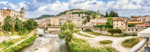 """Scenic view of the Old Town in Cosenza, Italy - <a href=""""https://marcorubinophoto.com/product/scenic-view-of-the-old-town-in-cosenza-italy-14"""">BUY NOW</a>"""