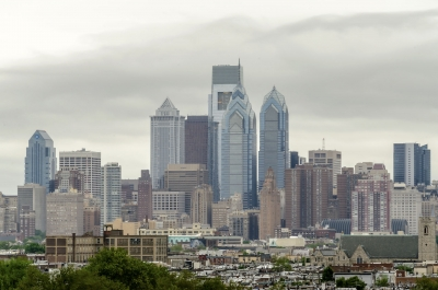 Skyline of Philadelphia, Pennsylvania, USA