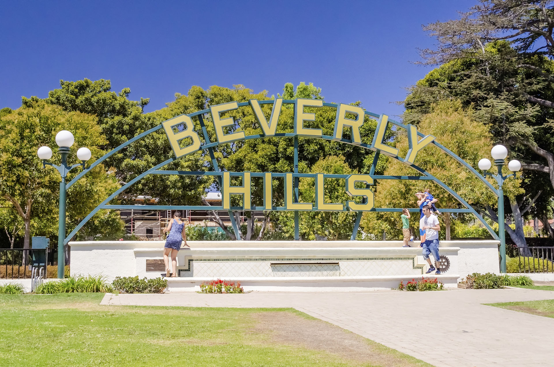 Beverly Hills Sign, Los Angeles, California, USA