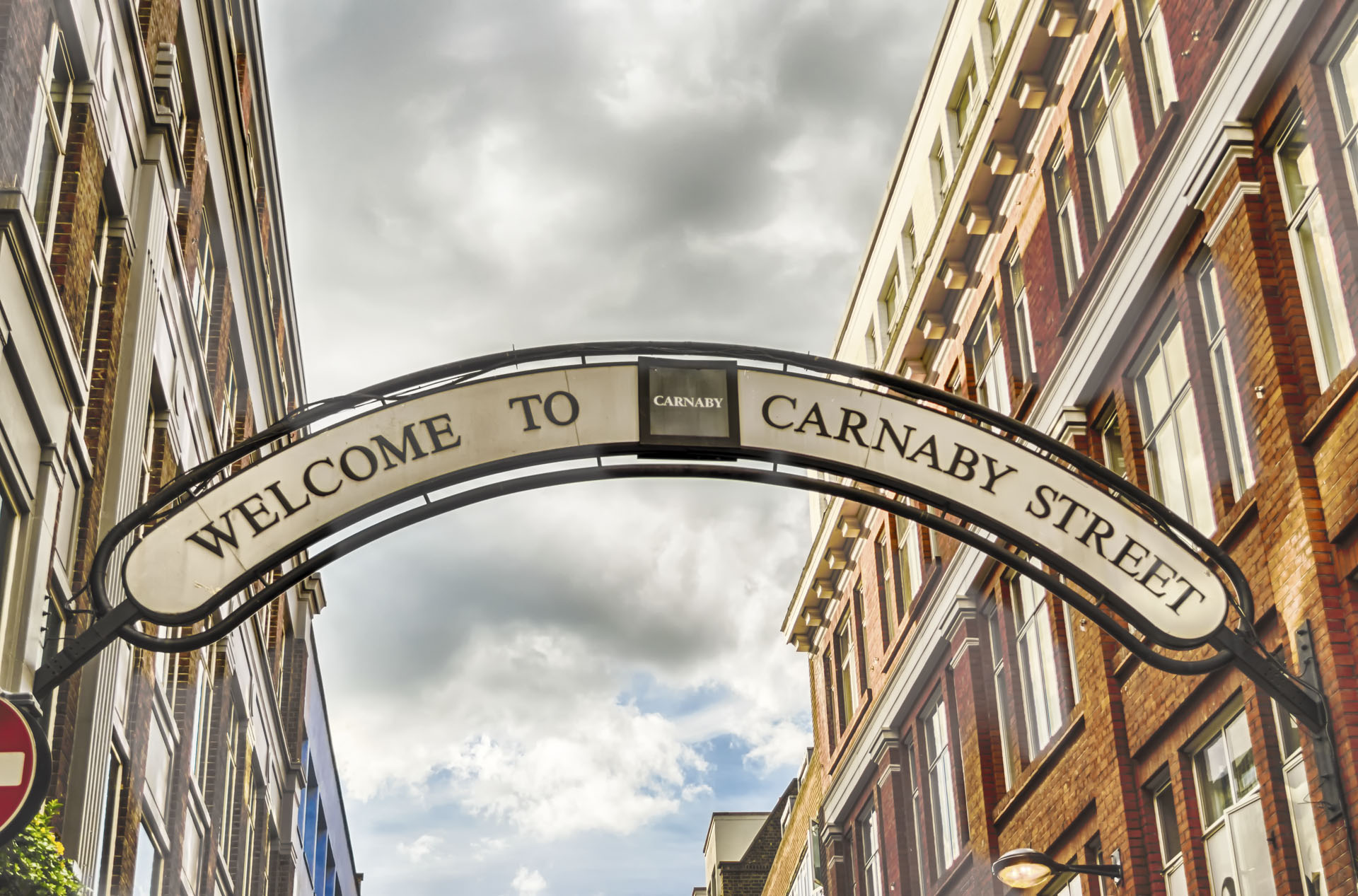 Carnaby Street Sign, London, UK