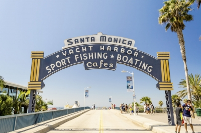 "Santa Monica iconic entrance arch, California, USA - <a href=""https://marcorubinophoto.com/product/santa-monica-iconic-entrance-arch-california-usa"">BUY NOW</a>"