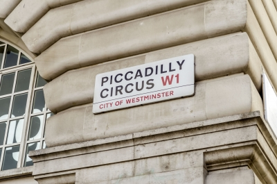 "Piccadilly Circus street sign, London, UK - <a href=""https://marcorubinophoto.com/product/piccadilly-circus-street-sign-london-uk-2"">BUY NOW</a>"