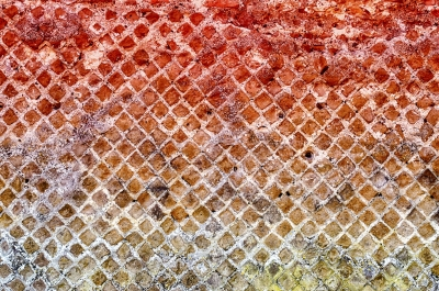 Red Stone Brick Wall Texture, may use as background