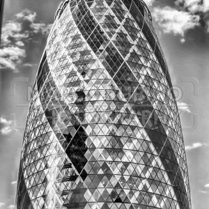 30 St Mary Axe aka Gherkin Building, London, UK