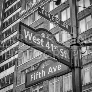 5th Avenue sign, New York City, USA - Marco Rubino | Photography - Inspiring imagery for creative projects