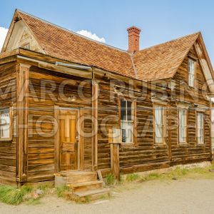 Abandoned Ranger Station, Ghost Town of Bodie, California, USA